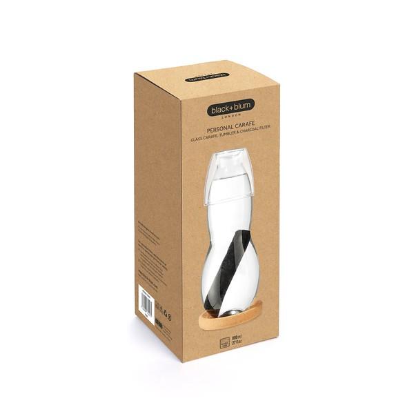 Personal Carafe packaging Black Blum
