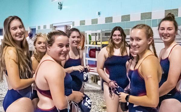 St. Paul Girls Swimming 11-3-20