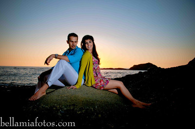 Meera & Manoj BEACH Engagement