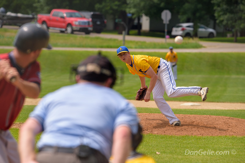 Pearl Lake Lakers Baseball vs Kimball Express