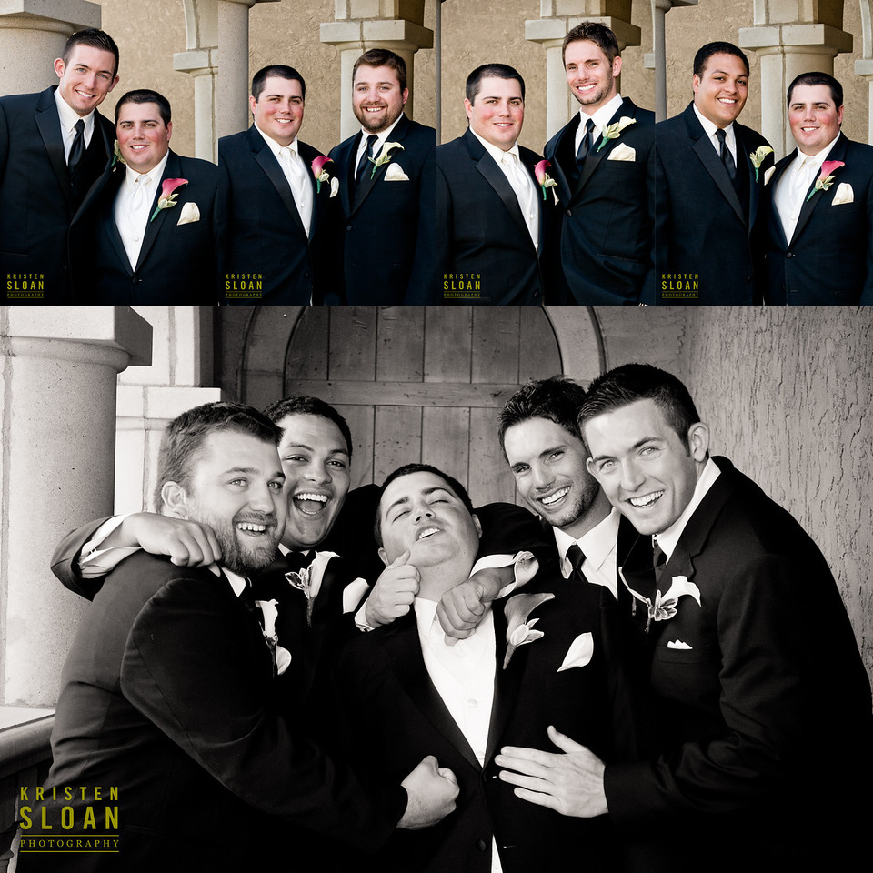 golf course wedding groomsmen denver colorado