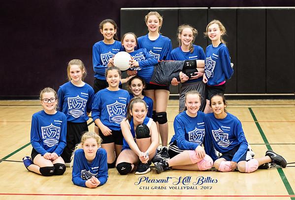 Pleasant Hill Volleyball - 6th grade