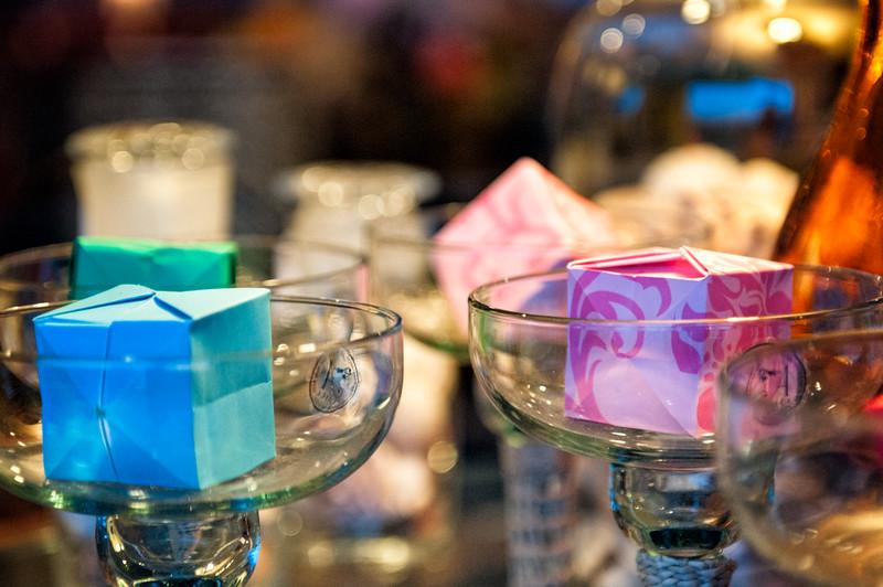 Origami cocktails