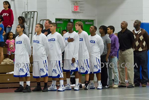Daytona Beach Atlantic @ Cornerstone Charter Boys Basketball - 2012
