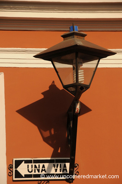 Street Light - Antigua, Guatemala