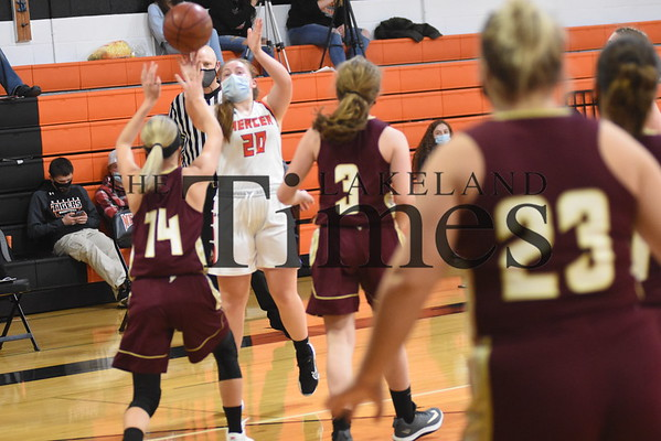 Mercer Girls' Basketball vs. Solon Springs December 11, 2020