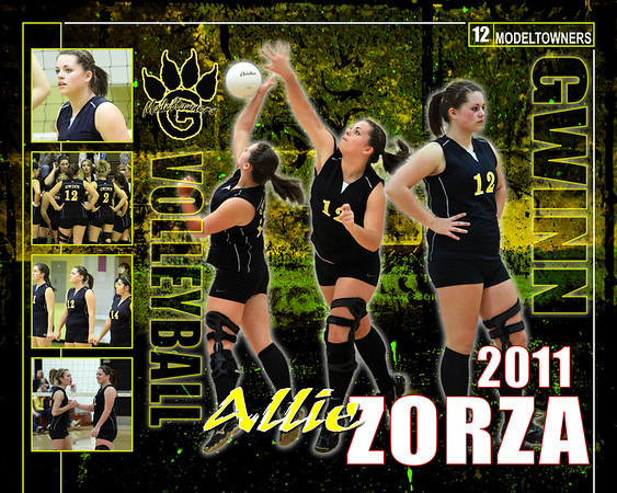 Gwinn Modeltowners Athletics Posters 2011-2012