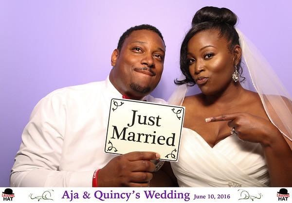 Aja & Quincy's Wedding