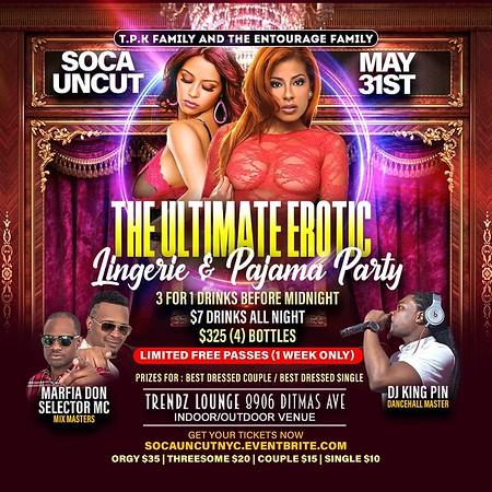 The Ultimate Erotic Lingerie & Pajama Party