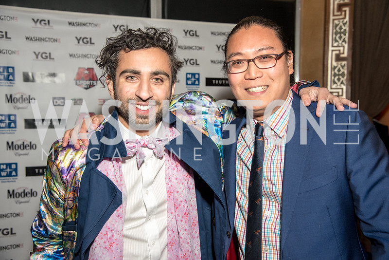 Nima Veiseh, Peter Chang, Washington Life Magazine, The Young and the Guest List, YGL, Union Station, November 10, 2017, photo by Ben Droz.