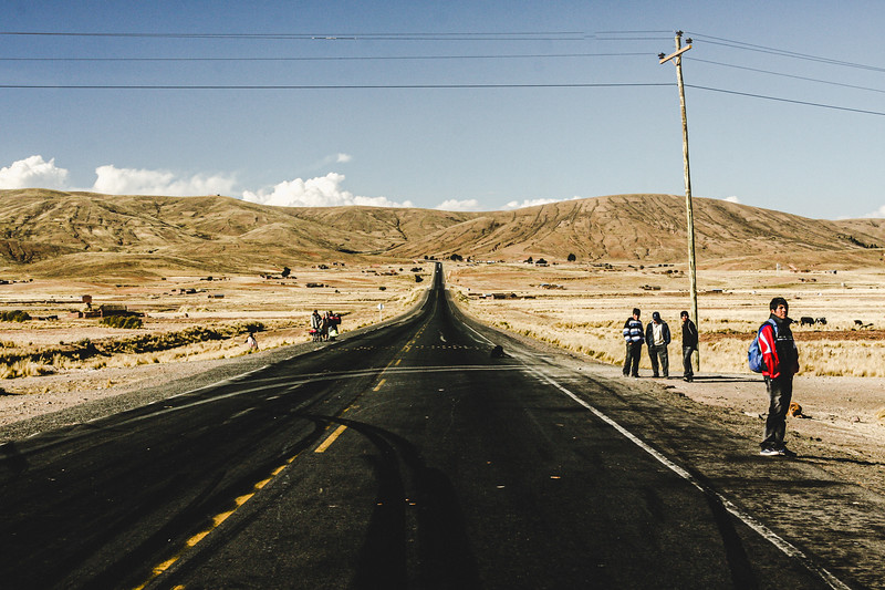 Straight Road through Drylands