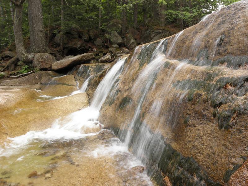 Water sheets at Diana's Baths