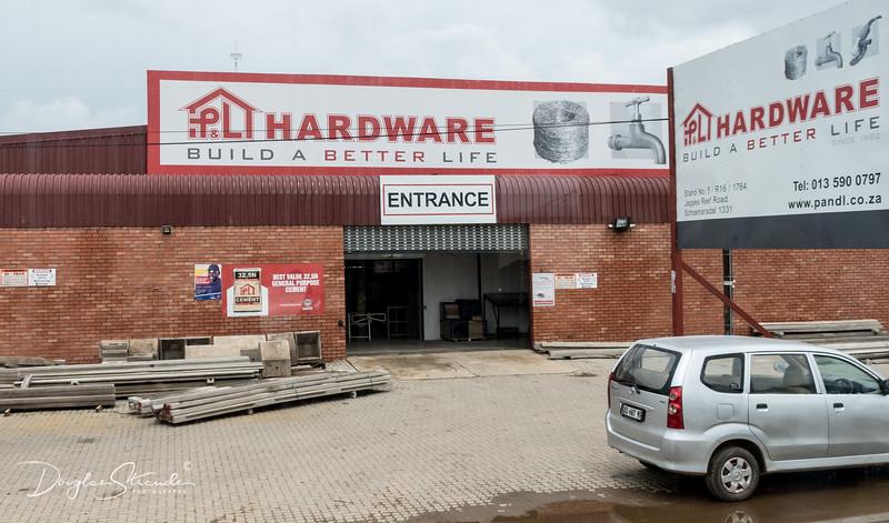 Modern Hardware Store