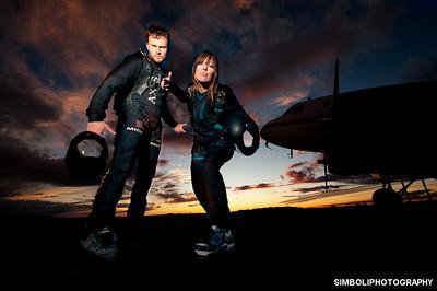 Niklas and Brianne - Skydive Arizona