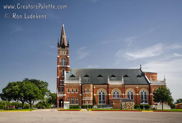 Sts.. Cyril and Methodius Catholic Church - Shiner, Texas