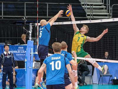 Australia v Finland match 2