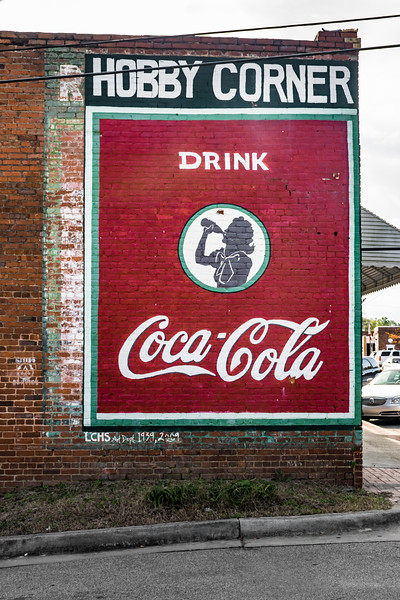 GA, Lincolnton - Coca-Cola Wall Sign 02