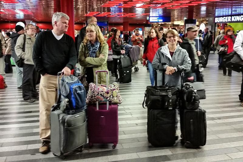 Friday, Oct 17 - Prague train station