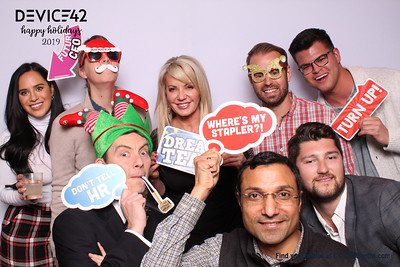 Device 42 Holiday Party 2019!