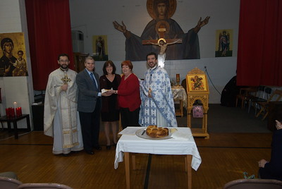 Community Life - Vasilopita - January 13, 2013