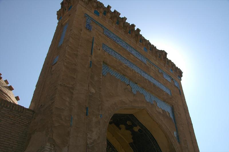 Entrance of the Mausoleum - Konye-Urgench, Turkmenistan