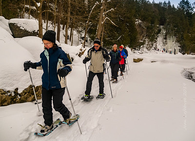 Snowshoeing with the Canoe Club 2019