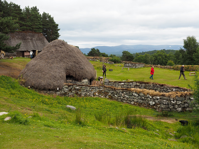 Highland Folk Museum in Scotland