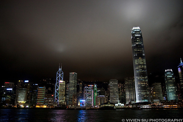 Tsim Sha Tsui and Victoria Harbour
