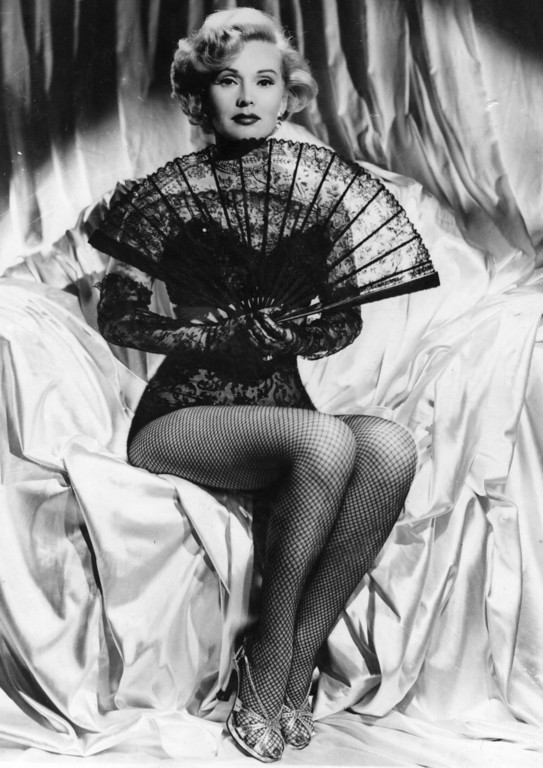 . Hungarian born actress Zsa Zsa Gabor.   (Photo by Keystone/Getty Images)