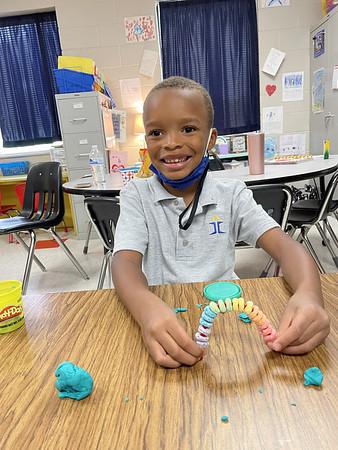 Color Day in Ms. Kristin's Kindergarten