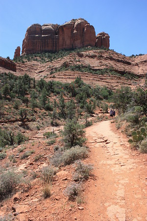 The trek in Sedona, Az