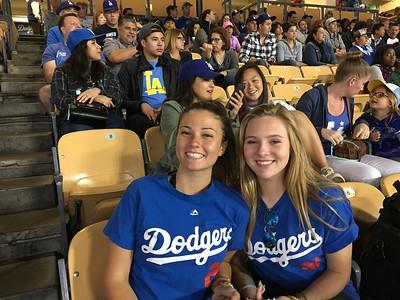 Kat & Haley at Dogers vs Rockies