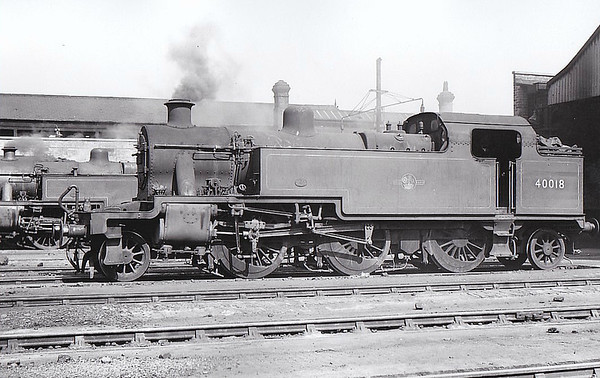 LOCOMOTIVES OF BRITISH RAILWAYS (MIDLAND REGION)