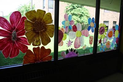 Glass Art, Elementary School, Tamaqua (5-31-2012)