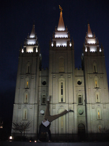 Andres Calderon - LDS Temple - Salt Lake City, Utah