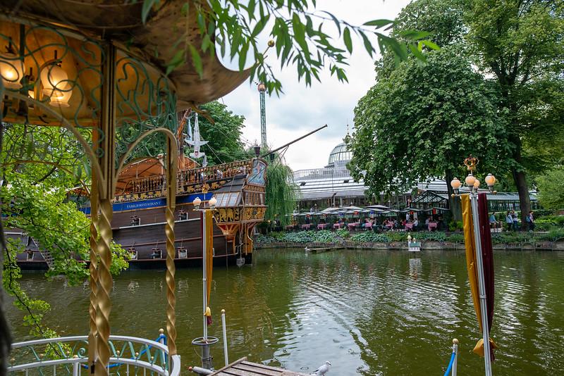 Tivoli Gardens - River