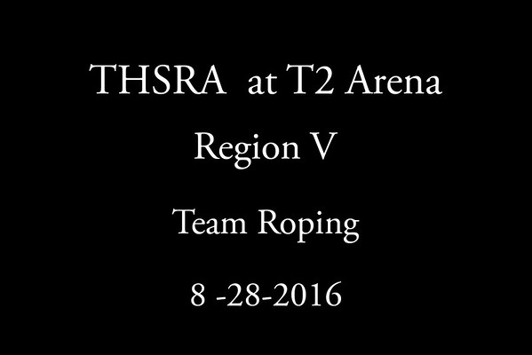 Sunday 'Team Roping'