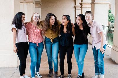 Kassidy, Maia, Alina, Naomi, Avni, Riley
