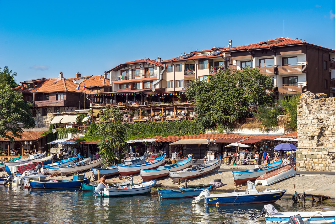 Bulgaria Nessebar Waterfront View