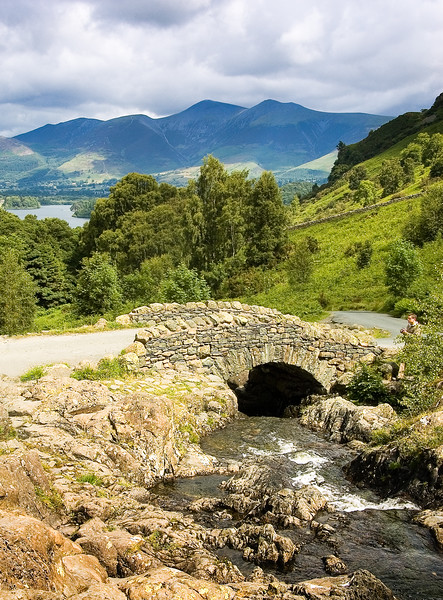 Ashness Bridge above Derwent Water
