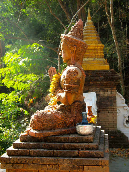 Wat Pha Lat, the Jungle Temple,  in Chiang Mai