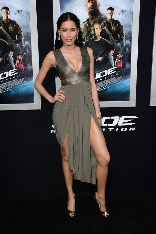 ". Actress Rebecca Da Costa arrives at the premiere of Paramount Pictures\' ""G.I. Joe: Retaliation\"" at TCL Chinese Theatre on March 28, 2013 in Hollywood, California.  (Photo by Frazer Harrison/Getty Images)"