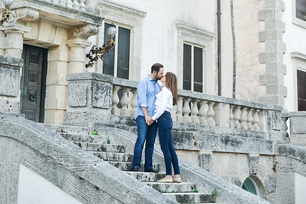 Christel an Ricardo's Engagement