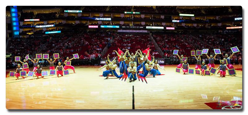 Rhythm-India @ Houston Rockets Half-time Show 2020