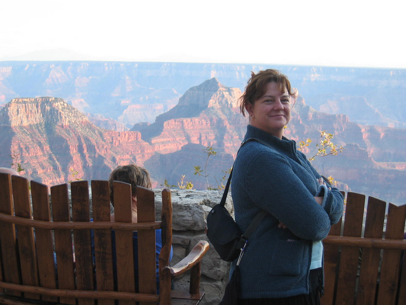First look at the Canyon from North Rim