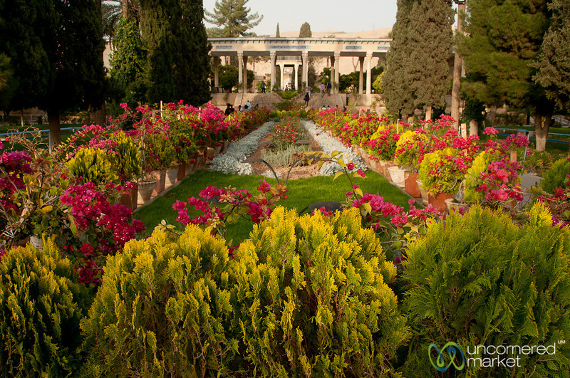 Colorful Garden at Hafez Park - Shiraz, Iran