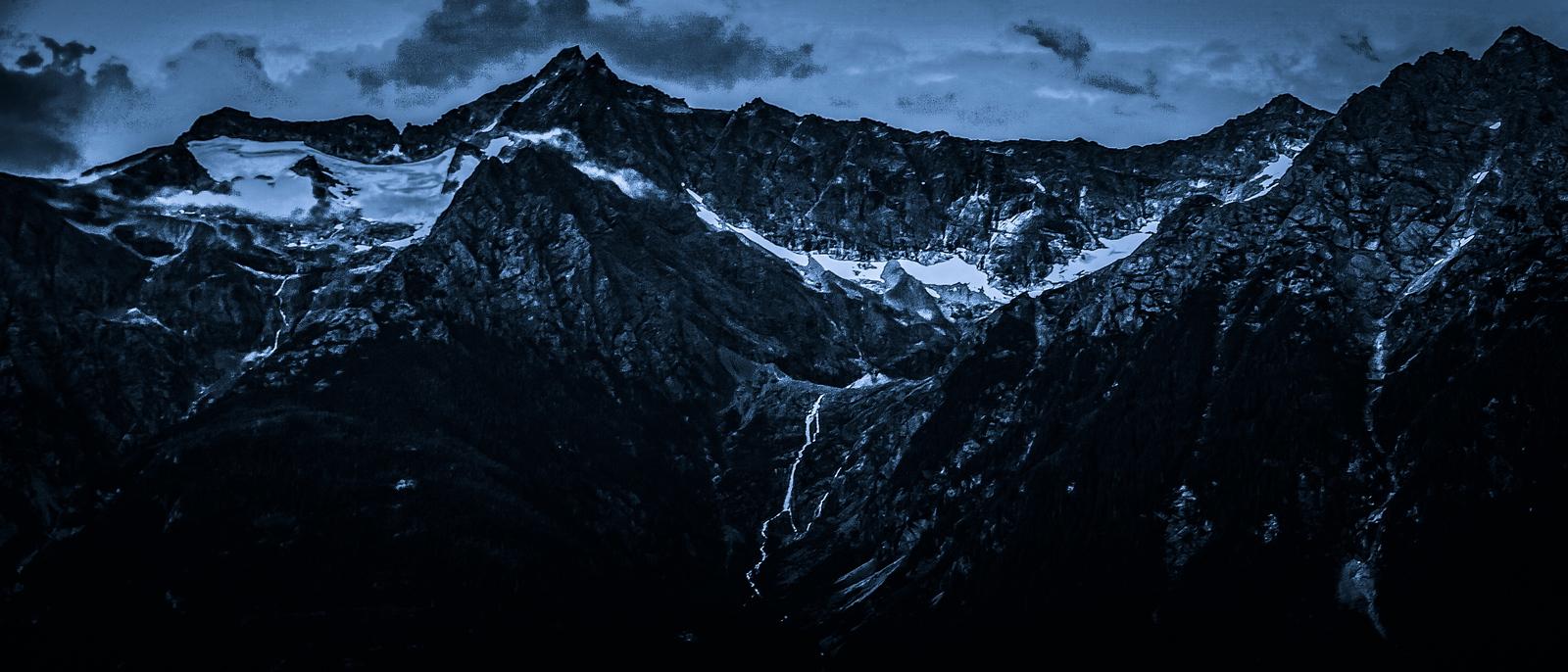 阿拉斯加,高山上的景