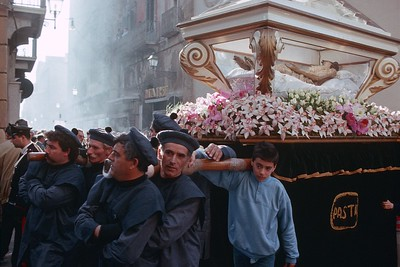 Easter Processions, Sicily, 1990.
