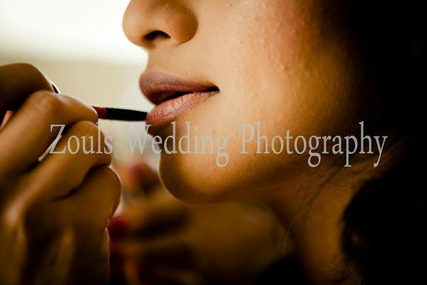AE Bride getting Ready