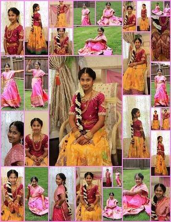 Tanvee's Sari Ceremony